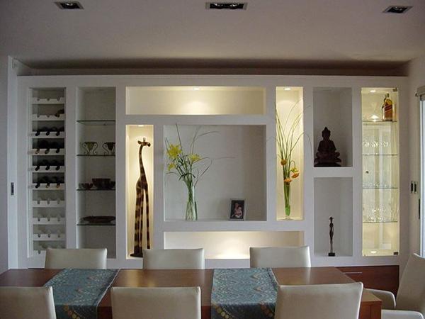 Pladur rojo instaladores de pladur en santander y cantabria for Muebles de pladur para salon